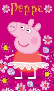 Ręcznik dziecięcy Świnka Peppa 30 x 50 cm (PP182053)