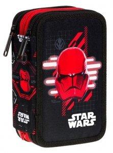 Piórnik CoolPack potrójny z wyposażeniem JUMPER 3 Star Wars (D67314)