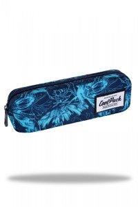 Piórnik CoolPack DECK niebieskie kwiaty, GILLYFLOWER (C71167)