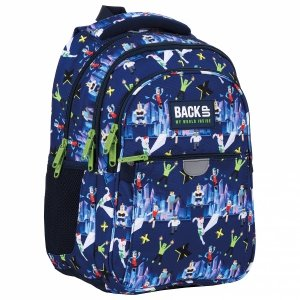 Plecak wczesnoszkolny BackUP 24 L gry, XXX (PLB4P51)