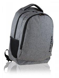 Plecak szkolny HEAD 27 L szary, MELANGE (502020097)