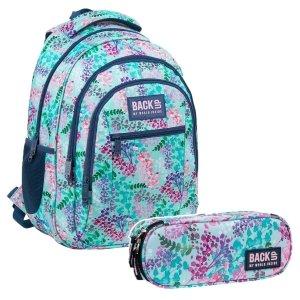 ZESTAW 2 el. Plecak szkolny młodzieżowy BackUP 26 L LATO (PLB3O20SET2CZ)
