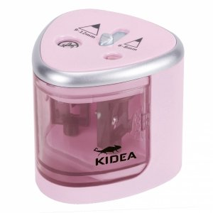 Temperówka elektryczna podwójna KIDEA różowa (TEL2KAR)