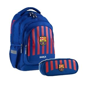 ZESTAW 2 el. Plecak szkolny 24 L FC-261 FC BARCELONA (502020001SET2CZ)
