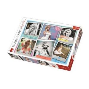TREFL Puzzle 1000 el. Fotografie Marilyn Monroe (10529)