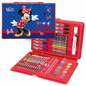 Zestaw artystyczny 71 elementów Myszka Minnie (ZA71MM27)