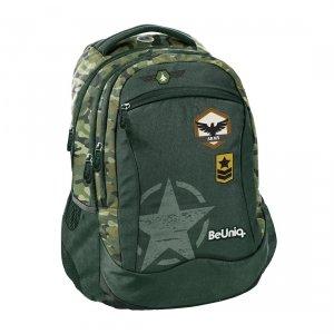 Plecak szkolny młodzieżowy moro, ARMY Paso (PPAR20-2808)