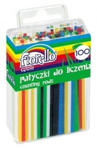 Patyczki do nauki liczenia liczmany 100 szt. Fiorello (30753)