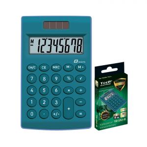 Kalkulator BIUROWY SZKOLNY zielony TOOR (120-1771)