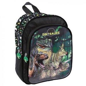 Plecak przedszkolny wycieczkowy DINOZAURY (PL11DN15)