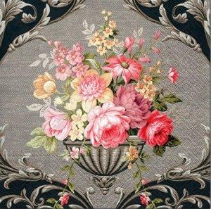 Serwetki dekoracyjne Bouquet BUKIET 33x33 cm (SDL120116)