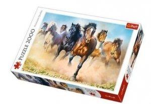 TREFL Puzzle 2000 el. Galopujące stado koni (27098)