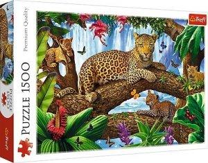 TREFL Puzzle 1500 el. Odpoczynek wśród drzew (26160)