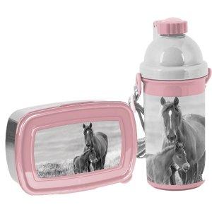 Zestaw bidon i śniadaniówka HORSES Konie Paso (PP20KO-3021+PP20KO-3022)