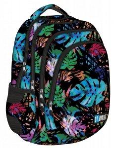Plecak szkolny młodzieżowy ST.RIGHT w egzotyczny ogród, EXOTIC GARDEN BP6 (22892)