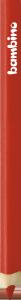 KREDKA TRÓJKĄTNA BAMBINO w oprawie drewnianej CZERWONA (03646)