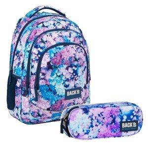 ZESTAW 2 el. Plecak szkolny młodzieżowy BackUP 26 L BZY (PLB3X23SET2CZ)