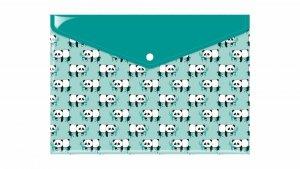 Teczka koperta A4  z nadrukiem PANDY PANDA (TKN-07-01)