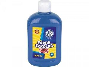 Farba szkolna NIEBIESKA 500 ml ASTRA (40098)