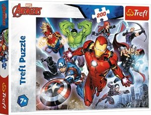 TREFL Puzzle 200 el. AVENGERS Waleczni Avengersi (13260)