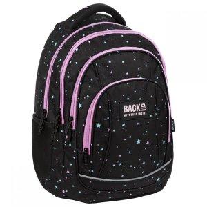 Plecak szkolny młodzieżowy BackUP 26 L GWIAZDY (PLB3A03)