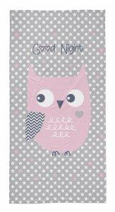 Ręcznik plażowy kąpielowy 70x140 OWL Sowa (WZÓR32)