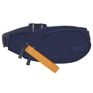 SASZETKA NERKA BackUP na pas torba granatowa, FLUO NAVY (TBB4A58)