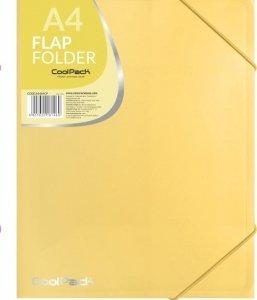 Teczka na dokumenty A4 CoolPack PASTEL YELLOW żółta (81469CP)