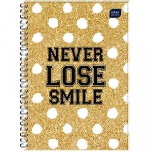 Kołobrulion A4 100 kartek w kratkę NEVER LOSE SMILE (73249)