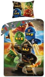Pościel bawełniana LEGO NINJAGO 140 x 200 cm (LEGO-374)