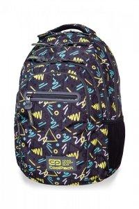 Plecak CoolPack COLLEGE TECH w kolorowe wzory, SKETCH (B36104)