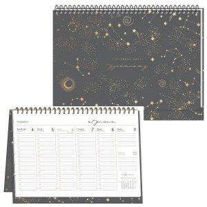 Kalendarz na biurko 2021 KOSMOS planer tygodniowy INTERDRUK (93329)