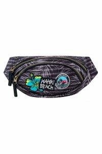 SASZETKA NERKA CoolPack na pas torba ALBANY z naszywkami, BADGES G GREY (B75155)