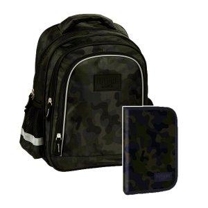 ZESTAW 2 el. Plecak szkolny MORO BackUP (PL15BDF19SET2CZ)