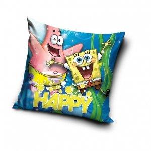 Poszewka na poduszkę  Spongebob Kanciastoporty 40 x 40 cm (SB195003)