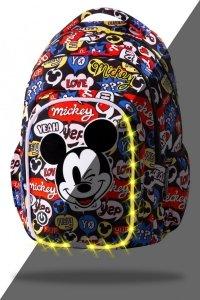 ZESTAW 2 el. Plecak CoolPack SPARK LED Myszka Mickey, MICKEY MOUSE (B45300SET2CZ)