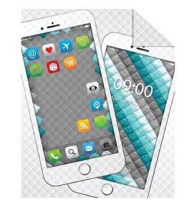 Narzuta dziecięca na łóżko IPHONE smartfon 170 x 210 cm (K043)