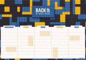 Plan lekcji BackUP klocki, BRICKS (PLNB3A52)