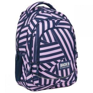 Plecak szkolny młodzieżowy BackUP 26 L PASKI (PLB3X11)