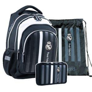 ZESTAW 3 el. Plecak szkolny 24 L Real Madryt (502020007SET3CZ)