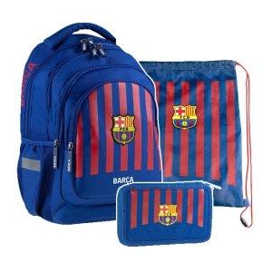 ZESTAW 3 el. Plecak szkolny 24 L FC-261 FC BARCELONA (502020001SET3CZ)