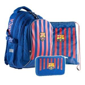 ZESTAW 3 el. Plecak szkolny 24 L FC-262 FC BARCELONA (502020002SET3CZ)