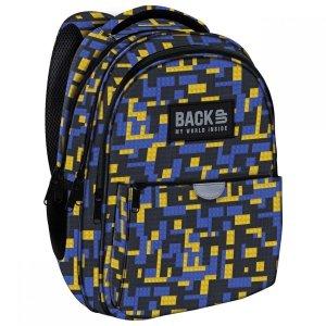 Plecak wczesnoszkolny BackUP 22 L klocki, BRICKS (PLB3P52)