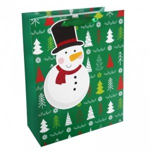 Torebka świąteczna na prezent BAŁWANEK Incood. (0071-0309)