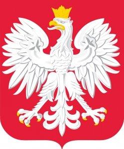 Naklejka Godło Polski nalepka Orzeł (1303)