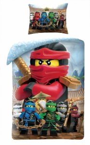 Komplet pościeli pościel LEGO THE MOVIE 2 140 x 200 cm (LEGO-742L)