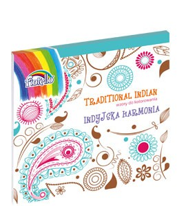 Książka do kolorowania TRADITIONAL INDIAN Fiorello (150-1387)