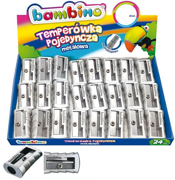 Temperówka metalowa BAMBINO (02984)