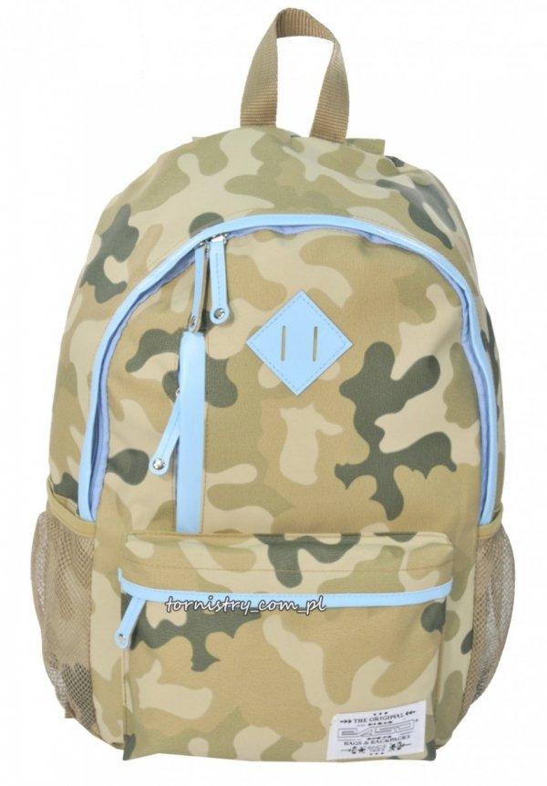 Plecak młodzieżowy HIPSTER wzór MORO (CM182B)