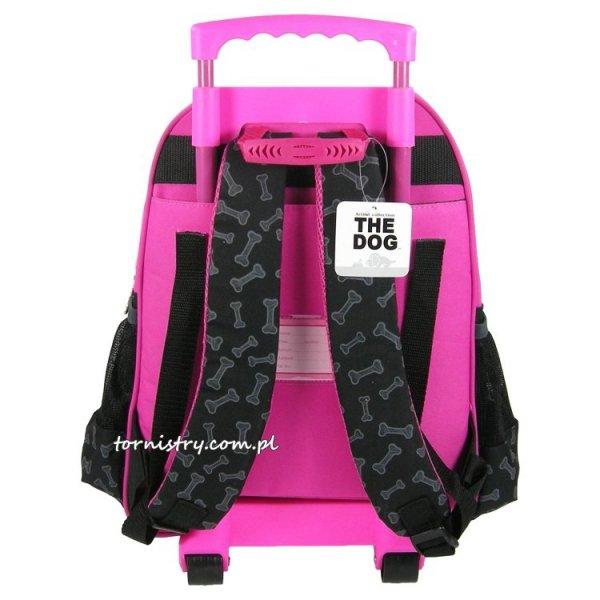 Plecak szkolny na kółkach THE DOG (PL15KTD29)